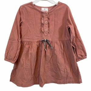 Hanna Andersson Corduroy Dress Size 100 US Size 4